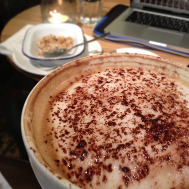 The best cappuccino in Cardiff - According to me ;)
