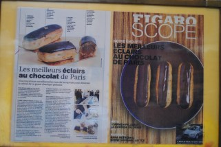 "Names the ""Best Chocolate Eclairs in Paris"""