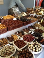 "Dried fruit&nuts&chocolates at ""Streets of Spain"""