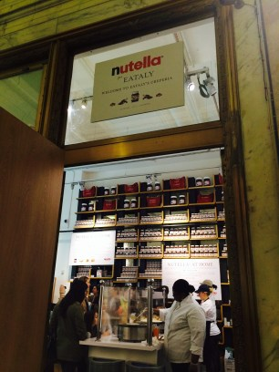 The newest addition to Eataly: The Nutella Bar
