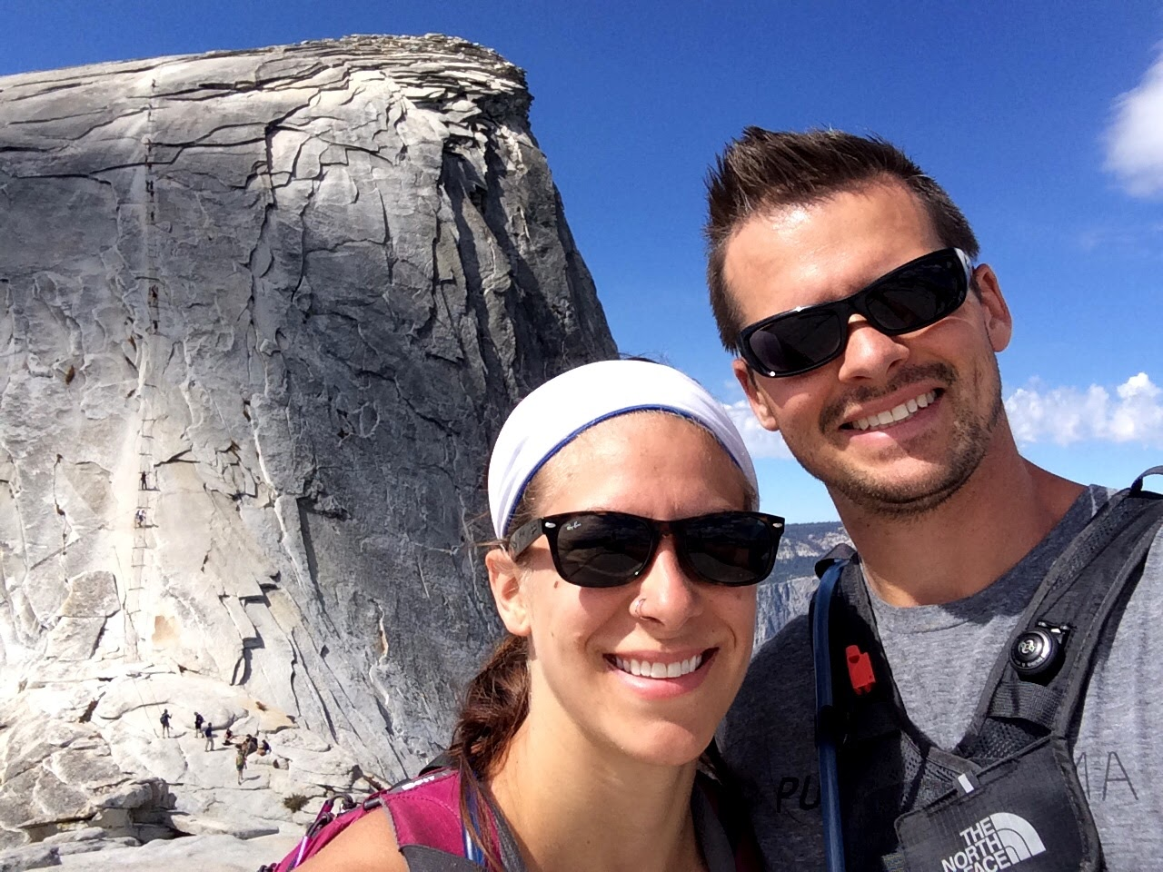 Roadtripping through Yosemite, and hiking up Half Dome