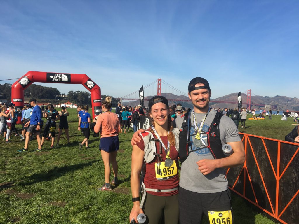 The north face endurance challenge half marathon SF