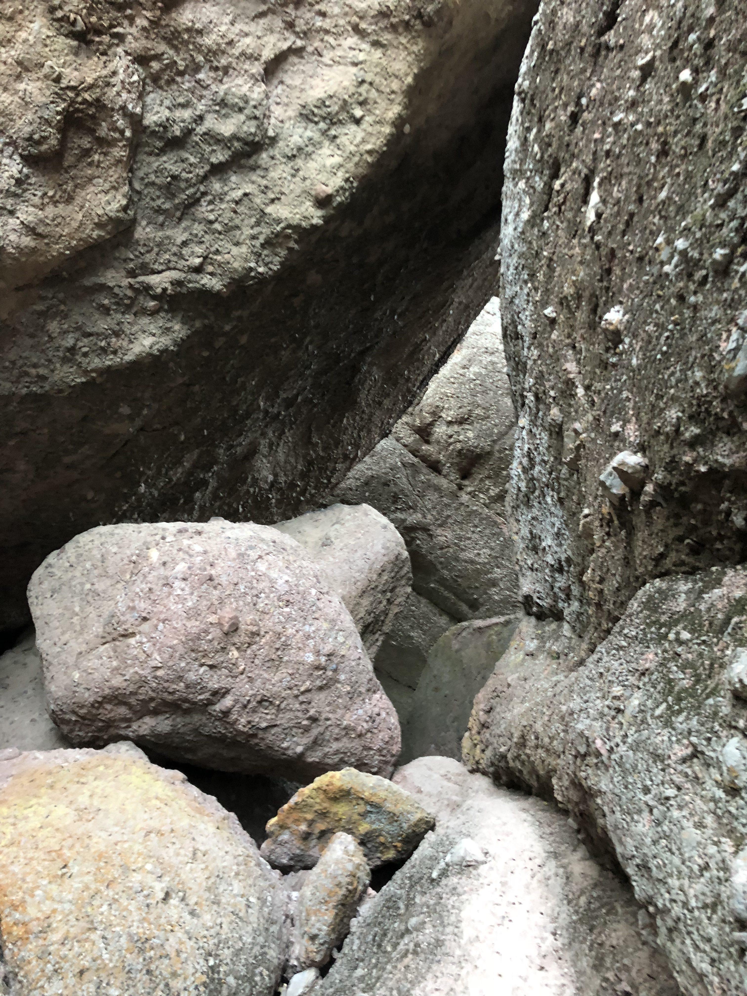 Balconies Cave Trail in Pinnacles National Park