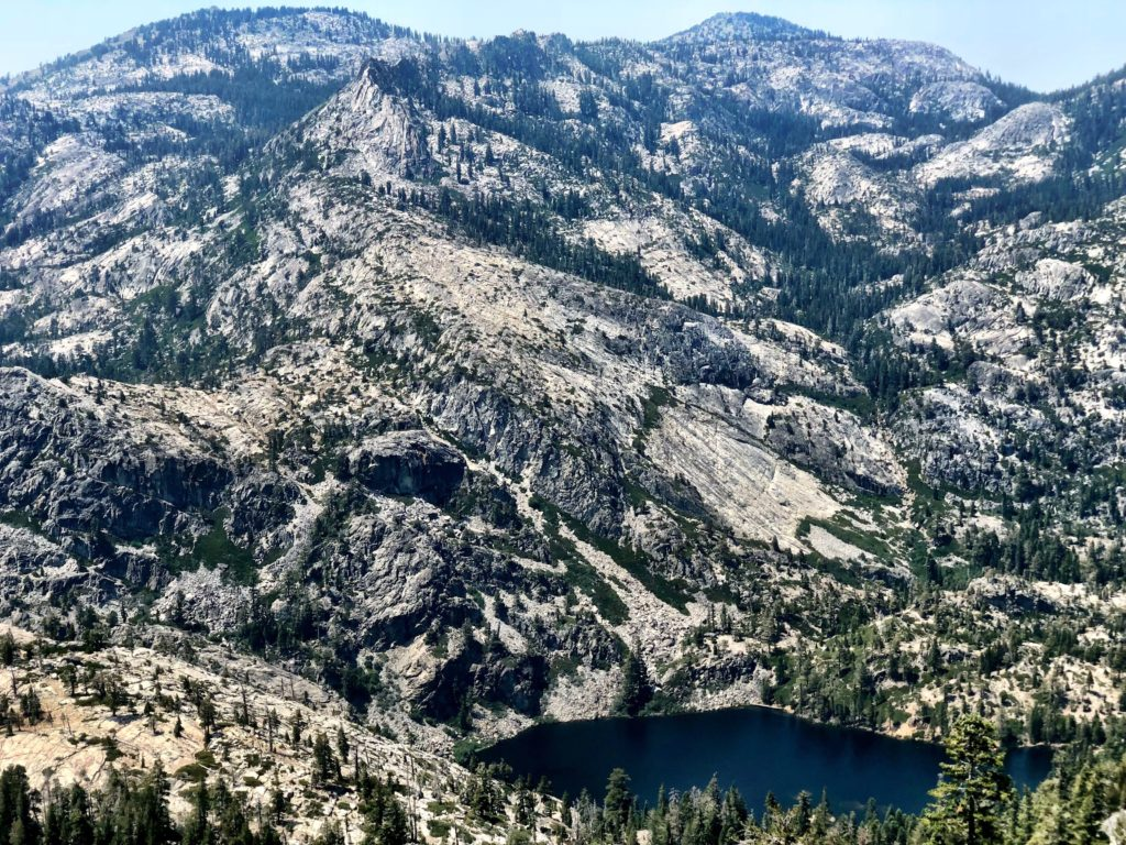 Maggie's Peak in the Desolation Wilderness