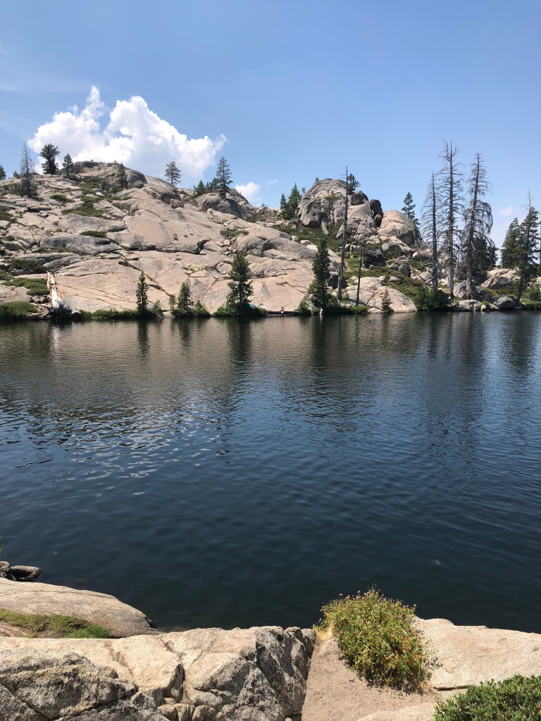Lake Margaret swimming hole