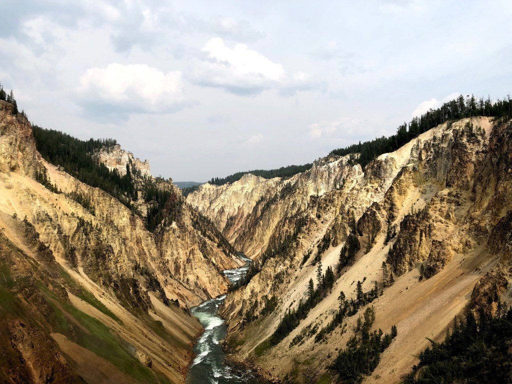Grand Canyon of the Yellowstone national park river
