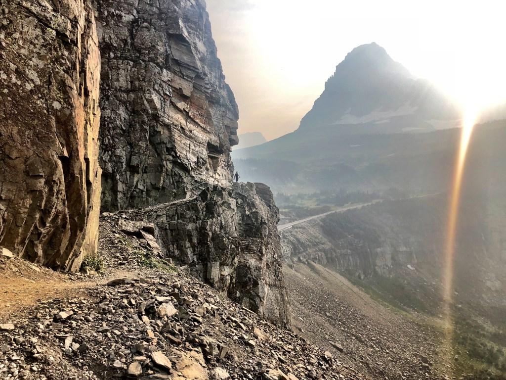 high divide trail Glacier national park
