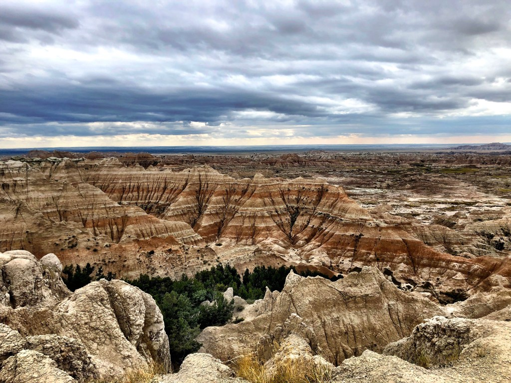 Badlands National Park Campsite Views on Vantastic Life