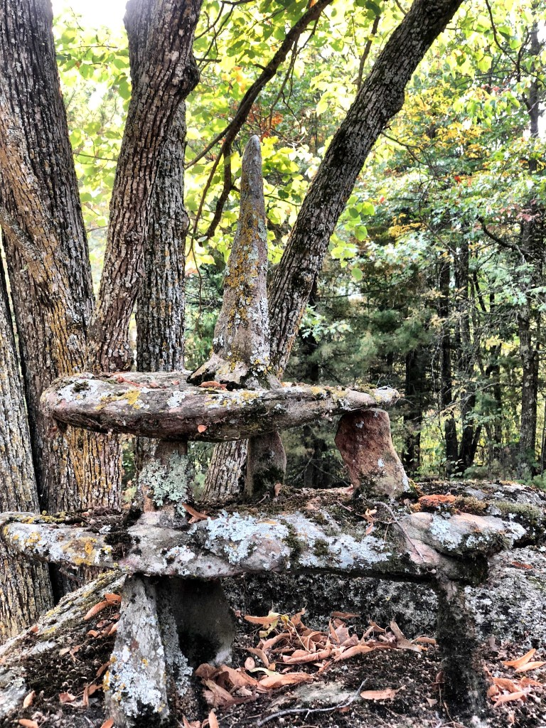 Sculpture at Ellsworth Rock Gardens near Voyageurs National Park