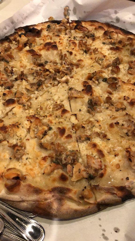 Northeast Tour: Pepe's Clam Pizza