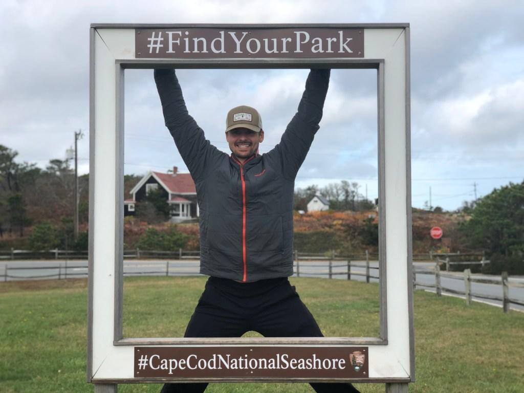Joe at Cape Cod National Seashore picture box