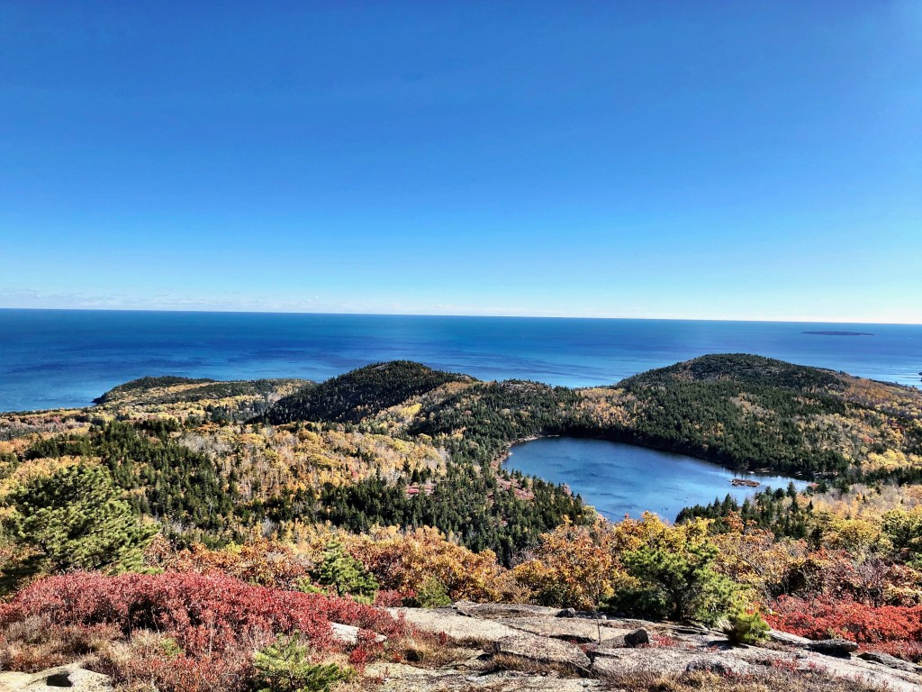 Amazing Lake and ocean in Acadia