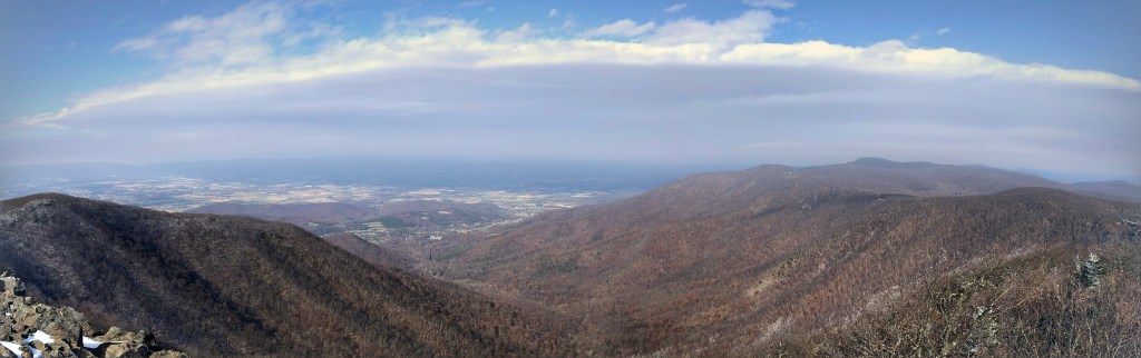 Panorama Amazing views from Shenandoah National Park
