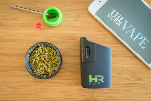Healthy Rips Fury dry herb vape review