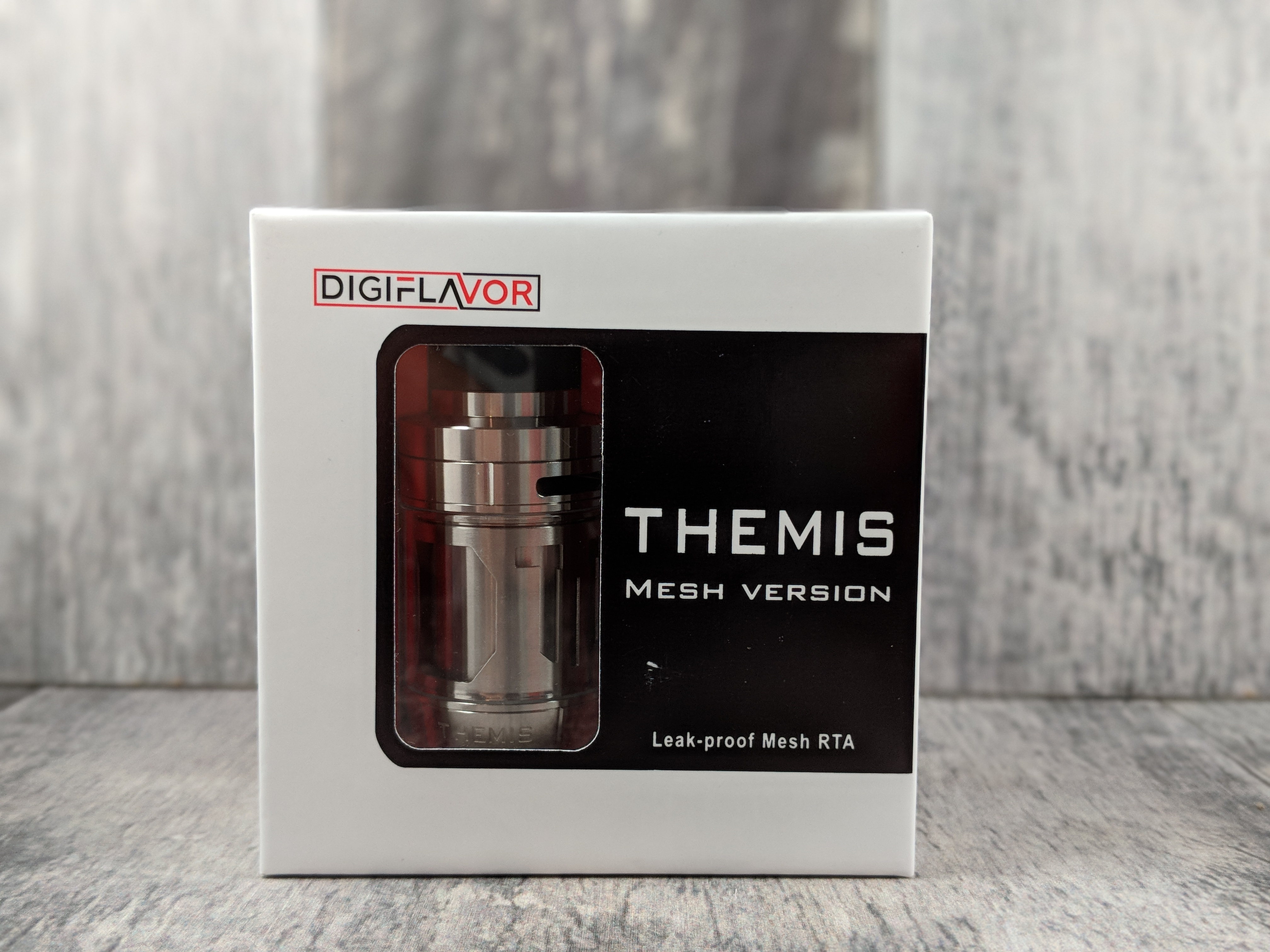 Honest review time: The Themis Mesh RTA from Digiflavor | The Vape
