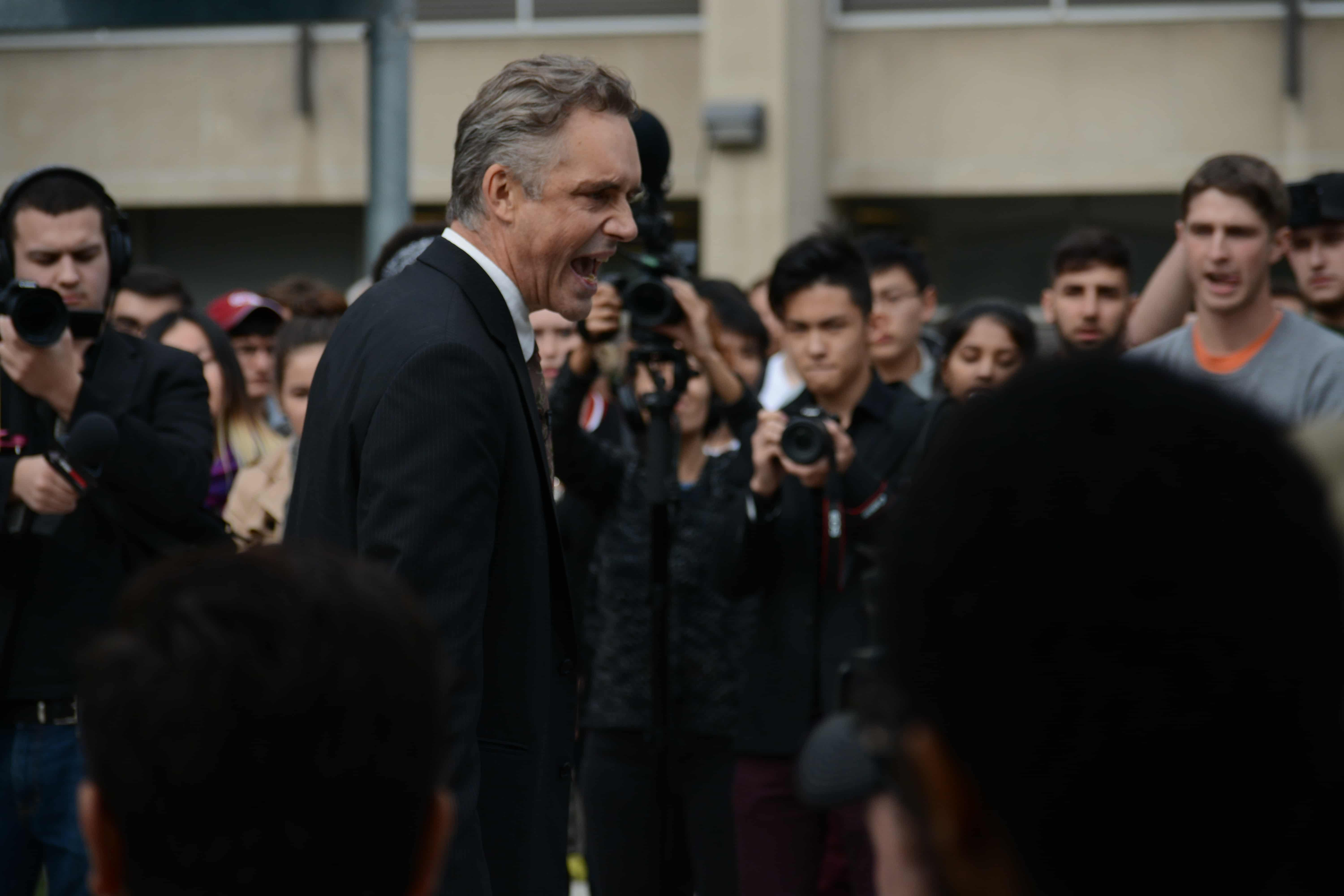 Jordan Peterson Wallpaper Quote Tensions Flare At Rally Supporting Free Speech Dr Jordan