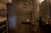 villa rental master suite shower