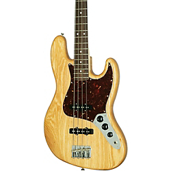Fender Special Edition Deluxe Ash Jazz Bass Natural Ash Rosewood Fretboard