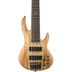 ESP LTD B-206SM 6-String Bass Spalted Maple