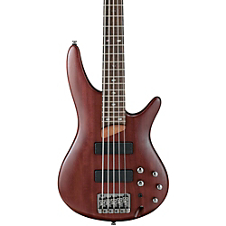 Ibanez SR505 5-String Electric Bass Guitar Brown Mahogany Rosewood Fretboard