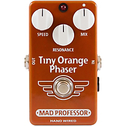 Mad Professor Hand Wired Tiny Orange Phaser Guitar Effects Pedal Standard