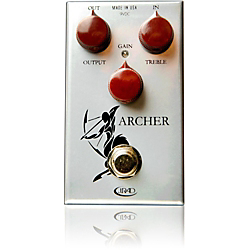 Rockett Pedals Archer Boost Overdrive Guitar Effects Pedal Standard