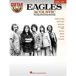 Hal Leonard Eagles Acoustic Guitar Play-Along Volume 161 (Book/CD) Standard