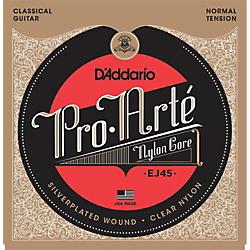 D'Addario EJ45 Pro-Arte Normal Tension Classical Guitar Strings Standard