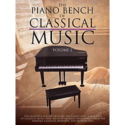 Music Sales Piano Bench Of Classical Music Vol. 2 for piano solo Standard