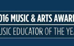 2016 Music Educator of the Year Award