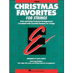 Hal Leonard Christmas Favorites Violin Essential Elements Standard