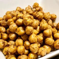 crispy roast chickpeas with greek seasoning recipe