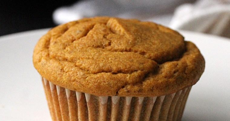 Pumpkin Spice Muffins [V+GF]
