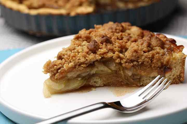 vegan gluten-free apple tart