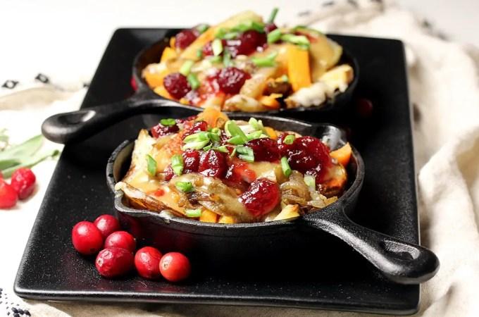 Vegan gluten-free thanksgiving poutine