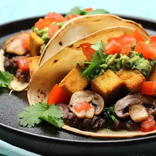 vegan tofu breakfast tacos gluten-free