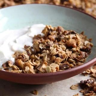 Photo of Cardamom Date Walnut Granola recipe