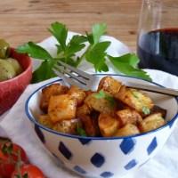 Spicy Spanish-ish Roasty Potatoes