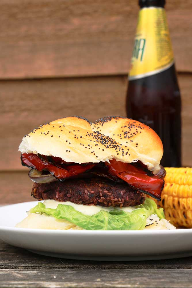 The Ultimate Vegan BBQ Burger