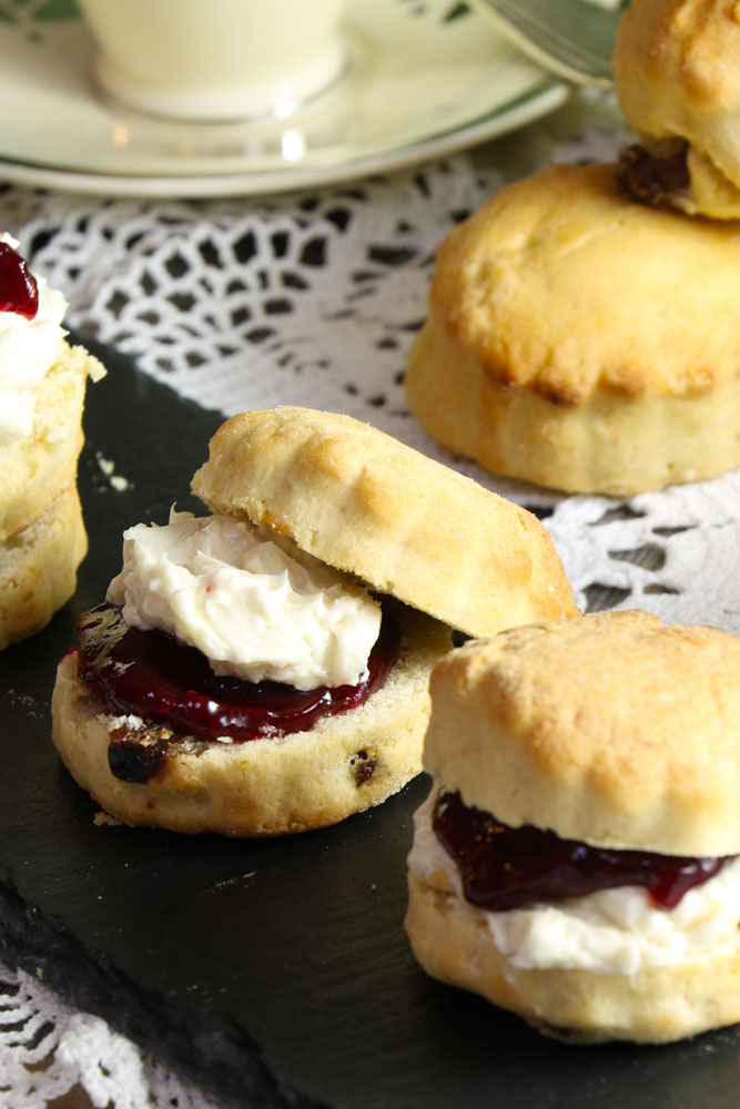 The Best Vegan Scones & Clotted Cream