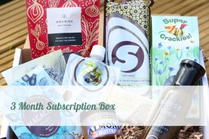 Three Month Subscription Box