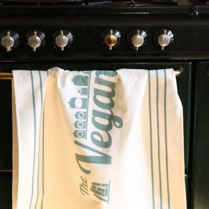 The Vegan Larder Branded Tea Towel