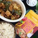 Potato, Tofu & Greens Honestly curry