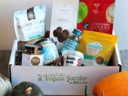 October Vegan LarderSubscription box