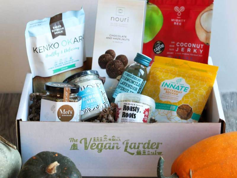 October Vegan LarderSubscription box