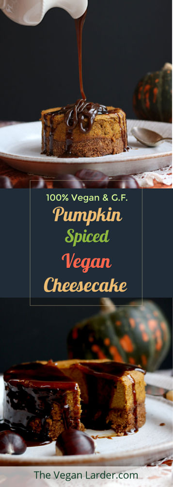 Vegan Pumpkin Cheese Cake PInterest