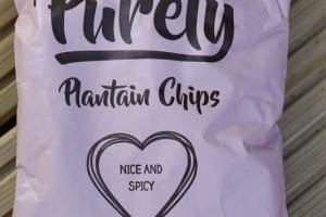 Plantain Nice n Spicy Crisps
