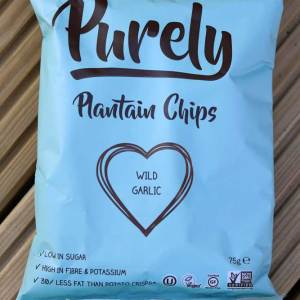 Purely Wild Garlic Plantain Chips
