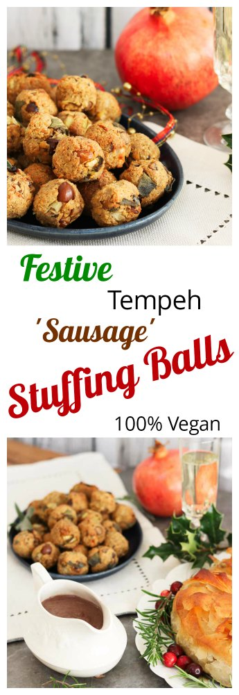 Christmas Stuffing Balls, Vegan Pinterest