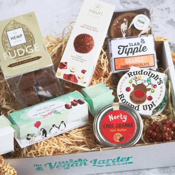 Christmas Vegan Chocolate Gift Box